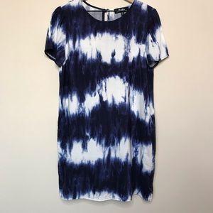 LuLu's Tie Dye Short Sleeve Dress